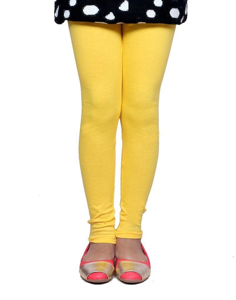 Indistar Little Girls Super Soft Cotton Leggings Set Of -9