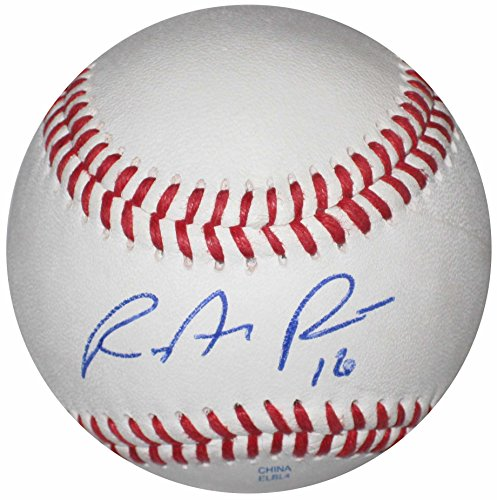 - Ryan Rua, Texas Rangers, Signed, Autographed, Baseball, a Coa and Proof Photo of Ryan Signing Will Be Included