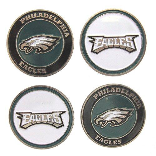 (Philadelphia Eagles Golf Ball Markers (Set of 4))