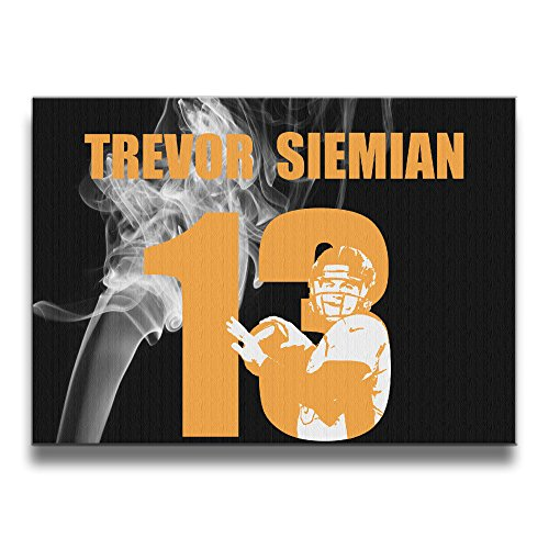 [MEGGE Trevor Siemian2 Fashion Frame Free Decorative Painting] (Trevor Halloween Costume)