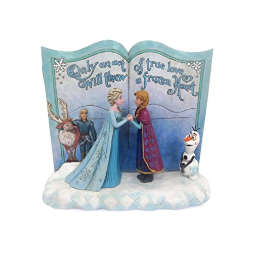 ENESCO 4049644 Disney Traditions Frozen Storybook Figurine