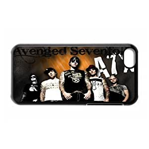 Gators Florida USA-6 Music Band Avenged Sevenfold Print Black Case With Hard Shell Cover for Apple iPhone 5C