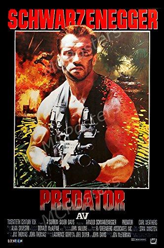 - MCPosters Predator 1987 Schwarzenegger GLOSSY FINISH Movie Poster - MCP252 (24