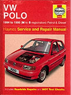 VW Polo Hatchback (1994-99) Service and Repair Manual (Haynes Service and