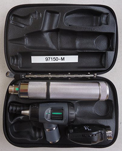 Welch Allyn 97150-M Halogen Hex Diagnostic Set Including Standard Ophthalmoscope, Macro View Otoscope, Rechargeable, Hard Storage Case, Nickel-Cadmium Battery, IEC Plug Type-A, 3.5V