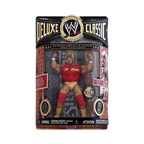 (WWE Jakks Deluxe Classic Super Articulation Series 1 Hulk Hogan)