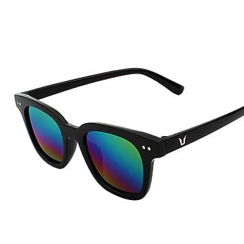 ASDYO Männer Ozean Gezeiten Blatt Sonnenbrille Multicolor Optional,D