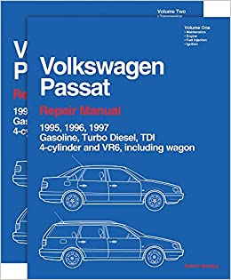 Volkswagen Passat Official Factory Repair Manual: 1995, 1996, 1997 Gasoline, Turbo Diesel, TDI, 4-cylinder and VR6, Including Wagon Vw Workshop Manuals: ...