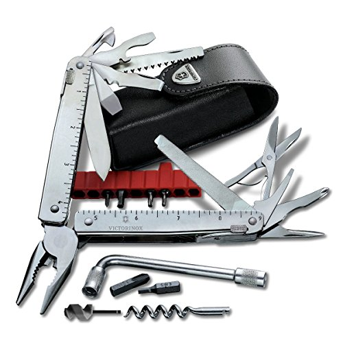 Victorinox Swiss Army SwissTool CS Plus Multi-Tool, Includes Leather Pouch