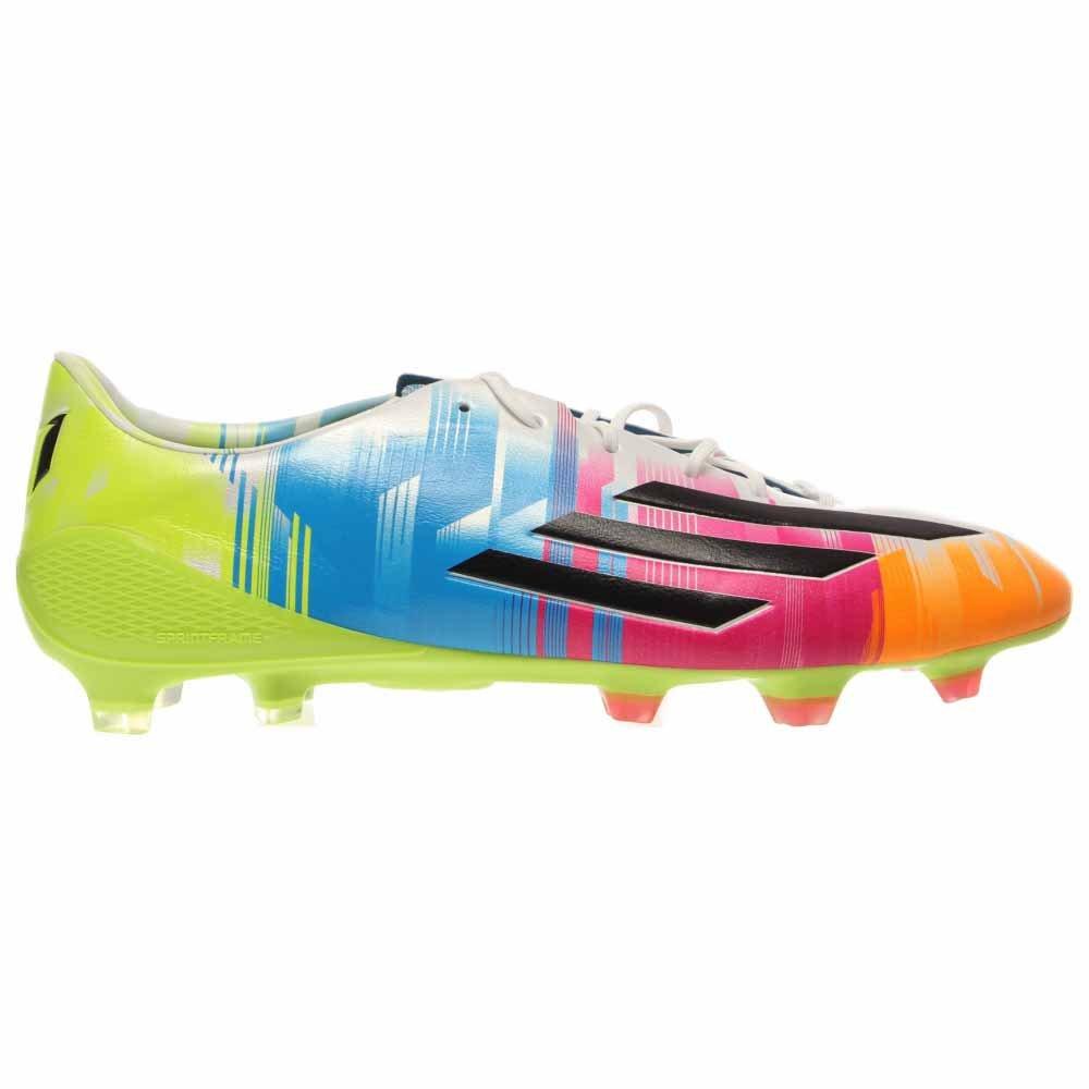 e665786f25a Adidas F50 adiZero TRX FG Messi Soccer Cleat - Running White Black Solar  Slime - Mens - 11  Amazon.ca  Shoes   Handbags