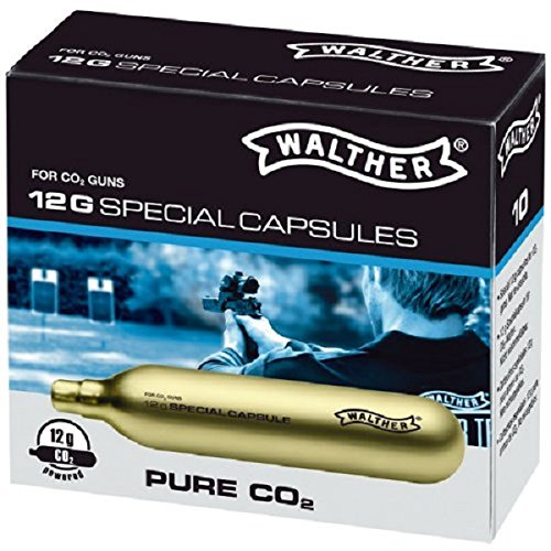 Walther Bombolette PURE CO2 12g (10pz) 4.1682