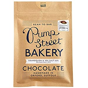Pump Street Bakery Sourdough and Sea Salt Chocolate Bar