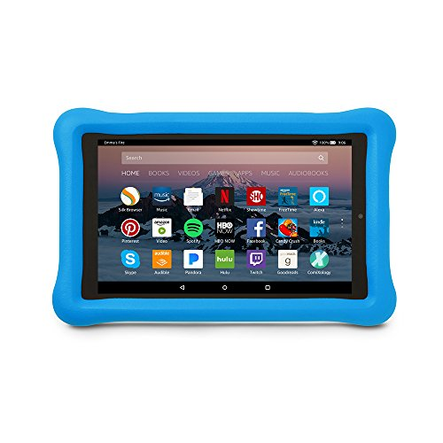 Amazon Kid-Proof Case for Amazon Fire HD 8 Tablet (7th Generation, 2017 Release), Blue