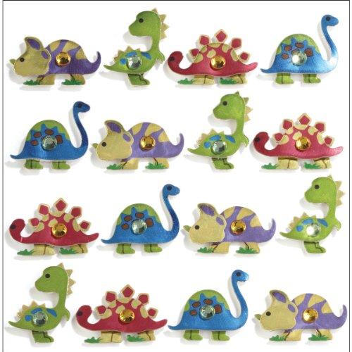 Foam Dimensional Stickers Art - Jolee's Boutique Repeats Dimensional Stickers, Dinosaur