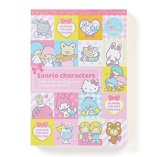 Sanrio Characters Deluxe Memo Pad Made in Japan1 piece per order (Hello Kitty & friends)