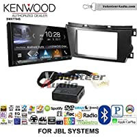 Volunteer Audio Kenwood DMX7704S Double Din Radio Install Kit with Apple CarPlay Android Auto Bluetooth Fits 2011-2012 Toyota Avalon with Amplified System