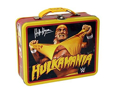 [Tin Box WWE Large Tin Carry All – Assorted Designs] (Hulk Hogan Costume Amazon)