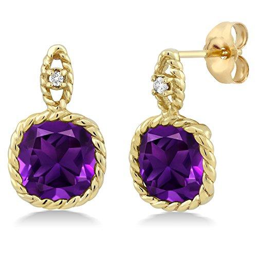 Star K Solid 14k Gold 7mm Heart Shape Earrings Studs
