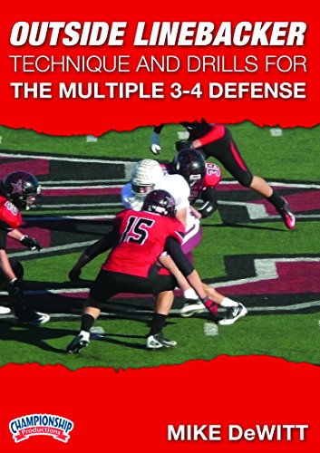 Championship Productions Mike Dewitt: Outside Linebacker Technique and Drills for the Multiple 3-4 Defense DVD