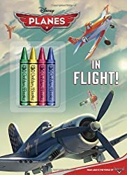 In Flight! (Disney Planes) (Color Plus Chunky Crayons)