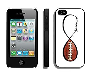 THYde American Football Forever Infinity Forever Iphone 6 plus 5.5 Case Black Cover ending