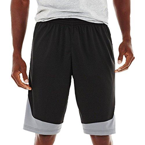 adidas Men's Basketball Superstar Shorts, Dark Grey/Grey, Medium