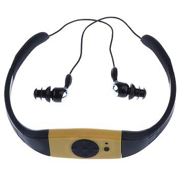 A Prueba De Agua 4GB Auriculares Deportivos Reproductor De Música ...