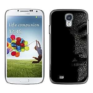 Stuss Case / Funda Carcasa protectora - MENSAJE ANÓNIMO - Samsung Galaxy S4