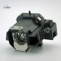 Epson ELPLP39 replacement projector lamp bulb with housing - high quality replacement lamp