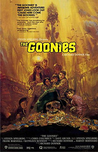 Pop Culture Graphics Goonies, The (1985) - 11 x 17 - Style B from Pop Culture Graphics