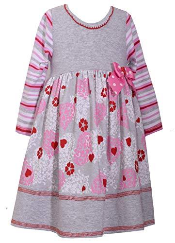 Toddler Girl Valentines Day Dresses - Bonnie Jean Toddler Little Girl's Valentine's