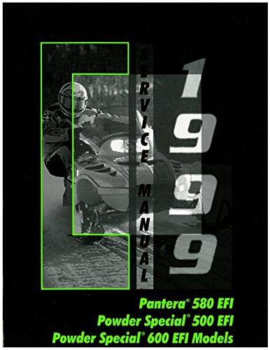 Download 2255-941 1999 Arctic Cat Pantera 580 EFI Powder Special 500 EFI Powder Special 600EFI 600 EFI LE Snowmobile Service Manual pdf