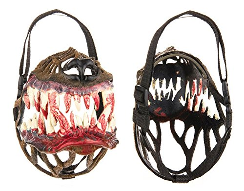 amazoncom unique designer muzzles for dogs werewolf pet supplies