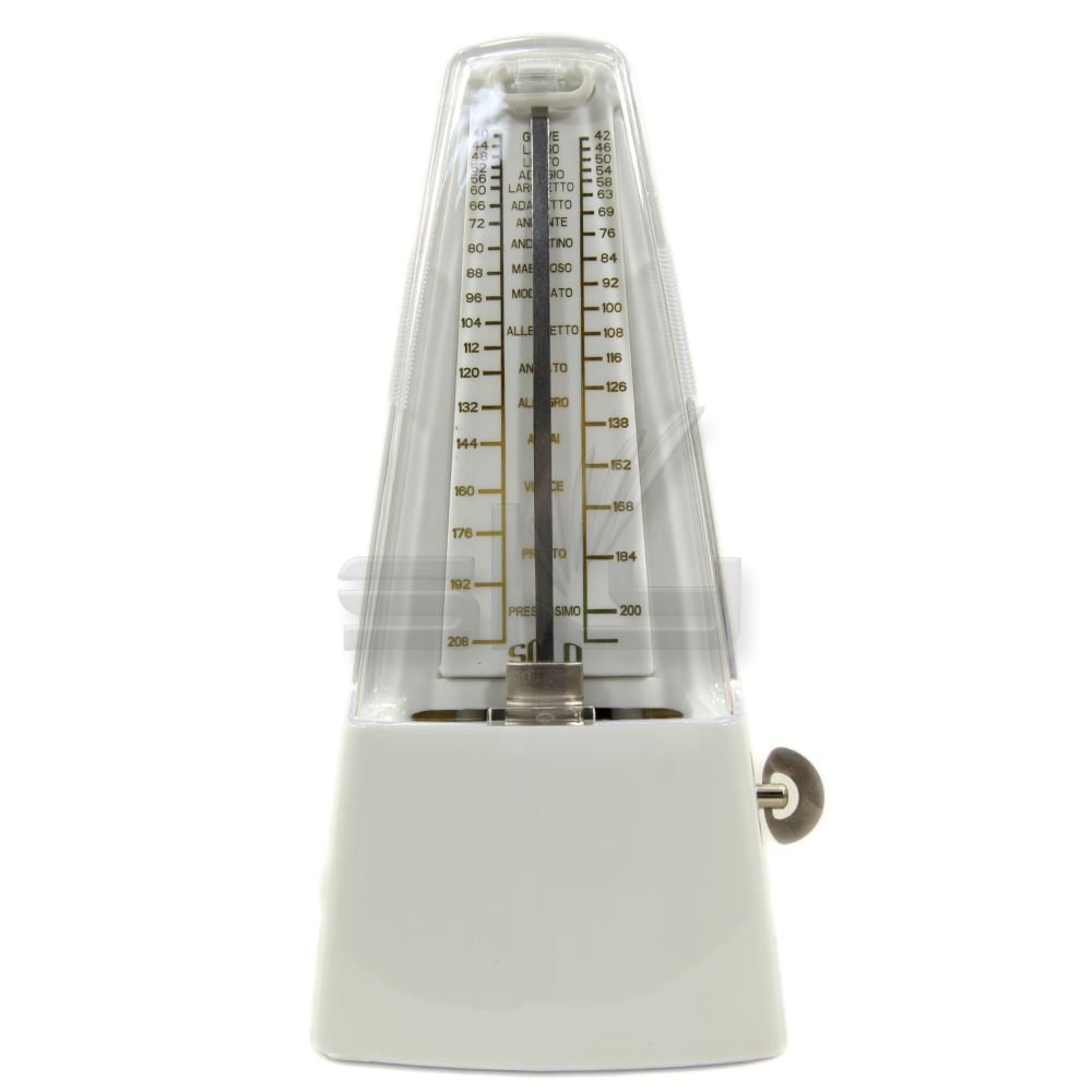 High Quality New Style SOLO SOLO350 Mechanical Metronome White Color