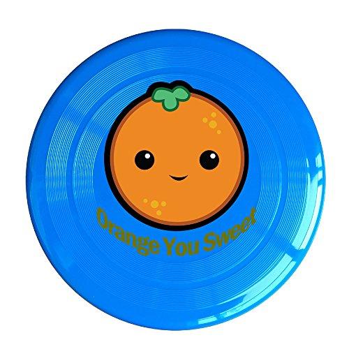 Amber Sweet Costume (Uhouq Orange You Sweet Colorful Disc Size One Size RoyalBlue)