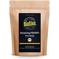 Darjeeling First Flush Organic 250g - Top Biologische zwarte thee - Verpakt in Duitsland (DE-ECO-005) - veganistisch…