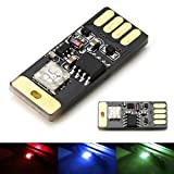 Automotive : iJDMTOY (1) Touch Control RGB Multi-Color USB Plug-In Miniature LED Car Interior Ambient Lighting Kit