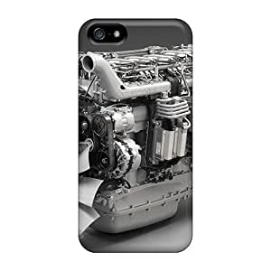 Top Quality Rugged Clean Scania Engine For HTC One M7 Phone Case Cover