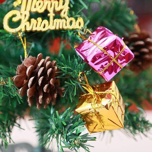 KARIDUN Christmas Tree Artificial 11.8in Small Christmas Trees Environmental Protection PVC Material Tabletop Ornament