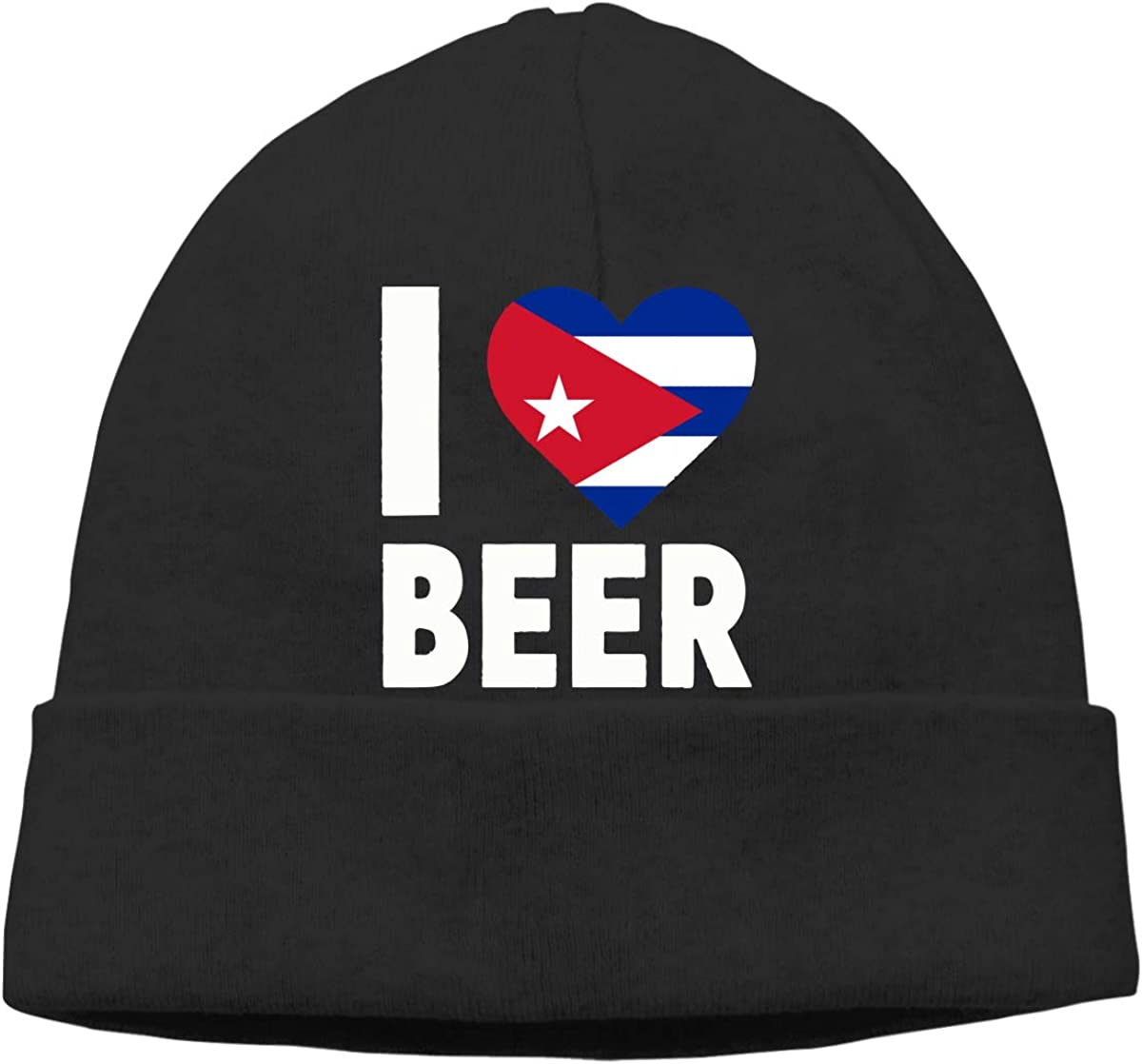 I Love Cuba Beer Unisex Helmet Liner Cycling Beanie Hats