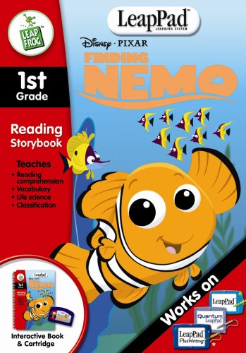 - LeapFrog LeapPad Educational Book: Finding Nemo