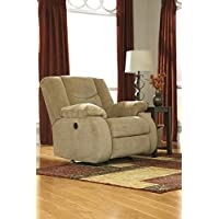 Signature Design by Ashley 9200225 Garek Collection Recliner, Sand, Manual