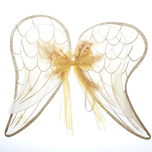 - Gold Glitter Wings