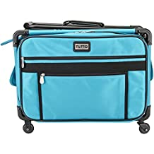 Tutto 4220MA-M-TURQ Art Supply Totes and Carrier Bags Machine on Wheels Case 20-Inch X 13-Inch X 9-Inch-Turquoise