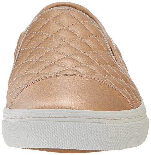Geox D Giyo, Zapatillas para Mujer Dorado (Skin C8182)