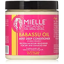 Mielle Organics BABASSU OIL Mint Deep conditioner 8 oz