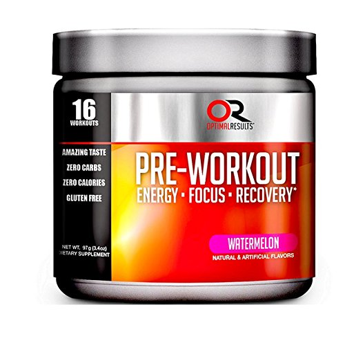 Optimal Results Preworkout Supplement, Tropical Fruit Punch, 16 Count