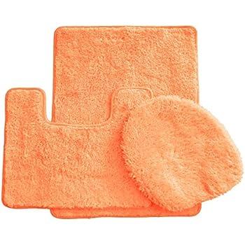 Amazon.com: 3 Piece Luxury Acrylic Bath Rugs Set Large 18