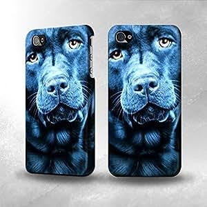 Apple iPhone 4 / 4S Case - The Best 3D Full Wrap iPhone Case - Labrador Retriever