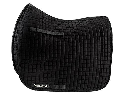 Back on Track Dressage Saddle Pad 2-Pack Black